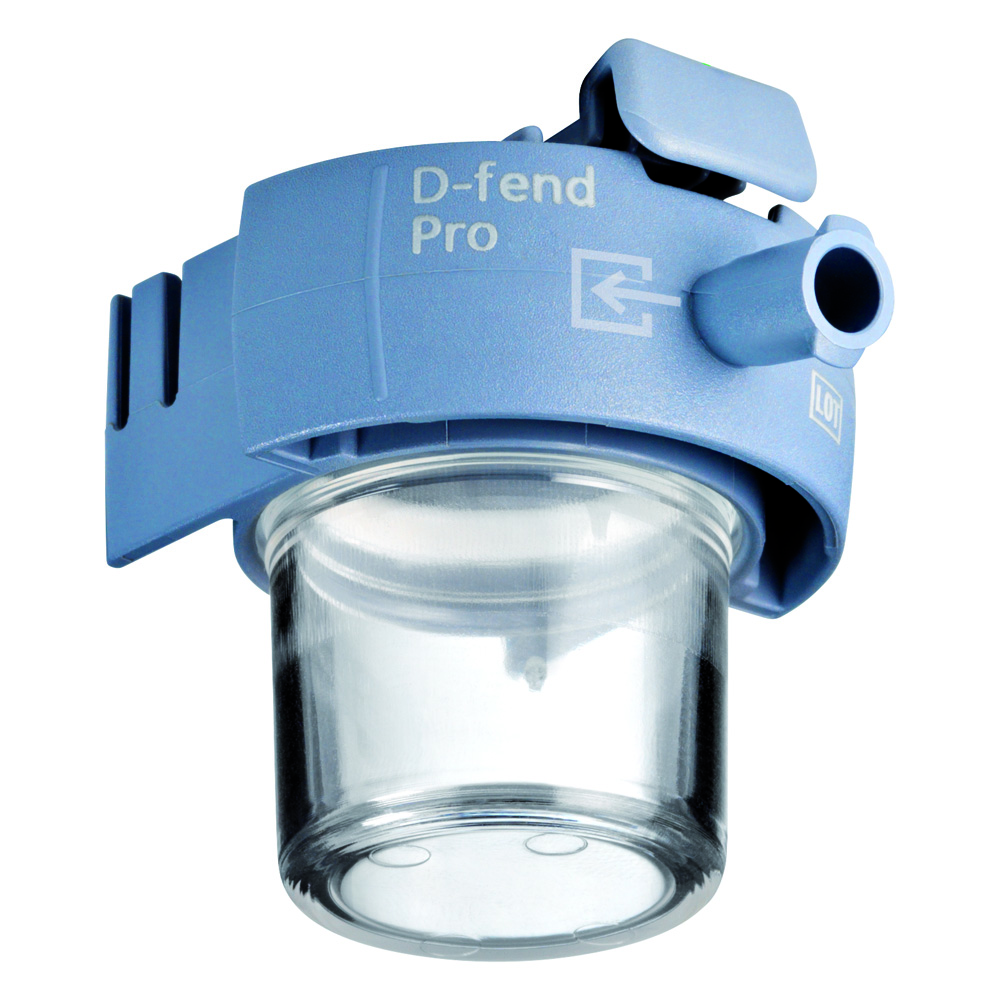 D-Fend Pro Water Trap, Dark Steel Blue, box of 10 pieces